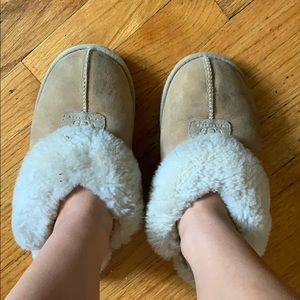 UGG Tan Slippers
